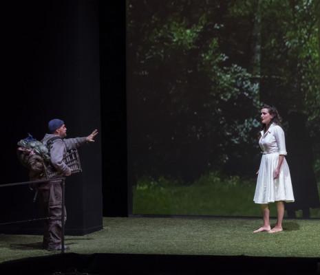 Alex Esposito & Julie Fuchs - La Flûte enchantée par Robert Carsen