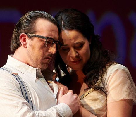 Freddie De Tommaso et Szilvia Vörös - Nabucco par Günter Krämer