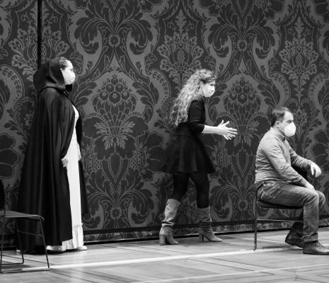 Ksenia Dudnikova (Amneris) et Piero Pretti (Radamès) - Aida par Lotte de Beer