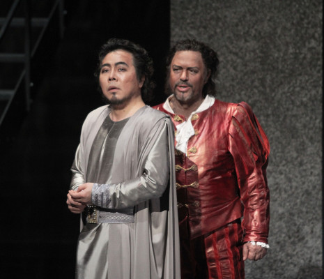 Seng-Hyoun Ko (Iago) et Vladimir Galousine (Otello)