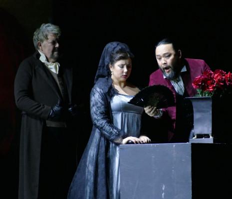 Jacques Calatayud, Jennifer Rowley & Samuel Youn - Tosca par Louis Désiré
