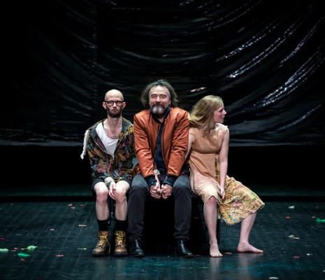 Damien Houssier, Serge Nicolaï et Marie Oppert - La Tempête