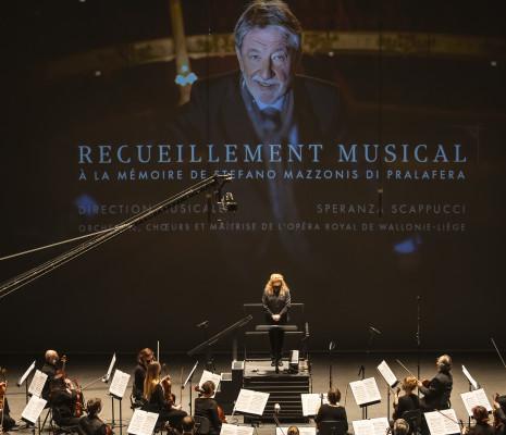 Recueillement musical à la mémoire de Stefano Mazzonis di Pralafera