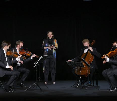 Quatuor Zemlinsky & Anna Maria Pammer