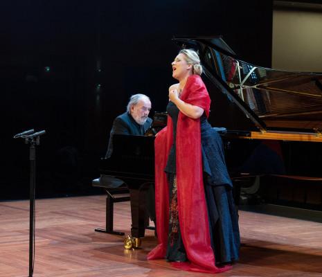 Diana Damrau et Helmut Deutsch