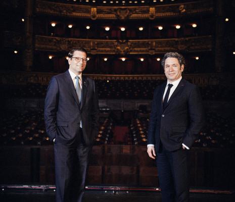 Alexander Neef et Gustavo Dudamel