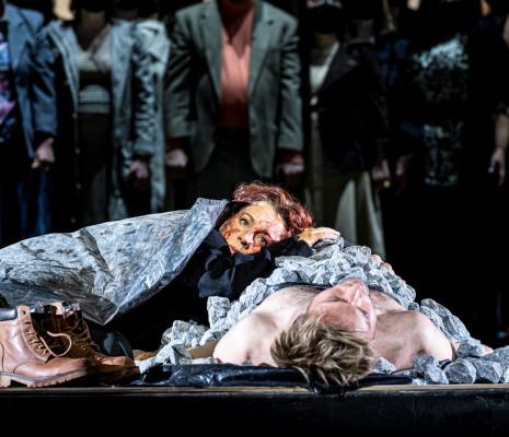 Lenneke Ruiten & Benjamin Appl - Passion selon Saint Jean par Calixto Bieito
