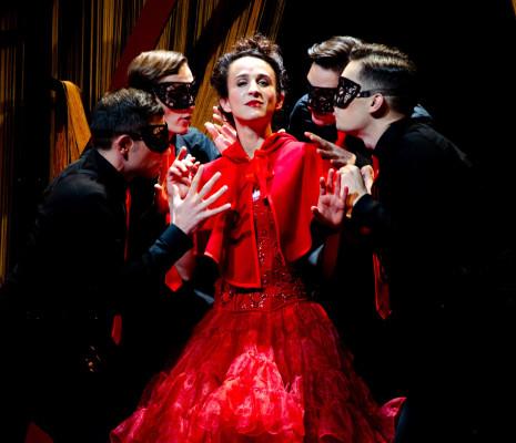 Sarah Laulan - Le Diable à Paris par Edouard Signolet