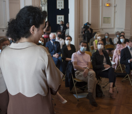 Armelle Khourdoïan dans La Traviata