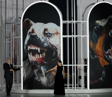 Laurent Naouri & Myrtò Papatanasiu - Tosca par Rafael Villalobos