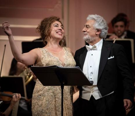 María José Siri & Plácido Domingo