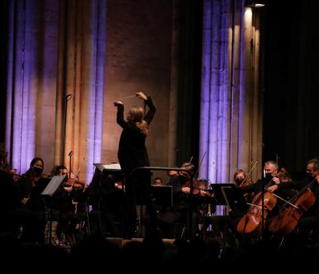 Karina Canellakis et l'Orchestre National de France