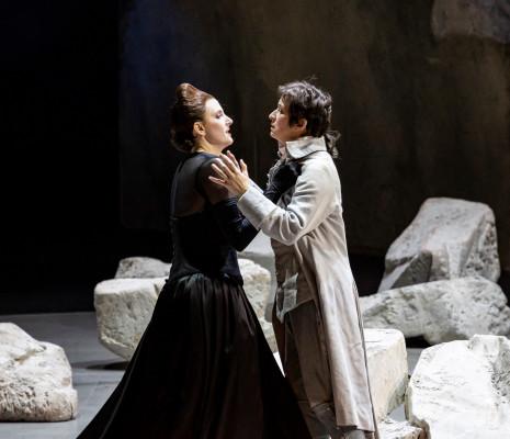 Amanda Majeski et Michèle Losier - La Clémence de Titus par Willy Decker