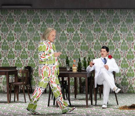 Christopher Purves & Stéphane Degout - Falstaff par Barrie Kosky
