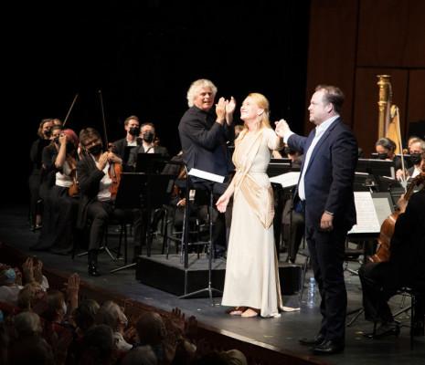 Sir Simon Rattle, Magdalena Kožená & Andrew Staples
