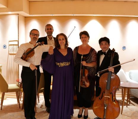 Judith van Wanroij & Quatuor Cambini