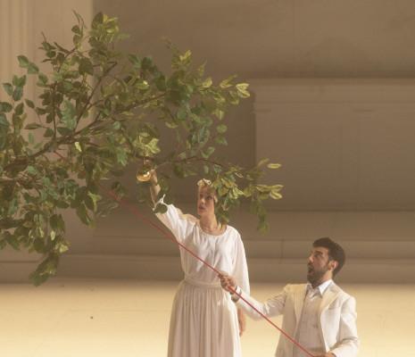 Anna Lucia Richter & Davide Luciano - Don Giovanni par Romeo Castellucci