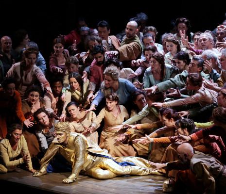 Jeanne d'Arc mis en scène par Moshe Leiser et Patrice Caurier