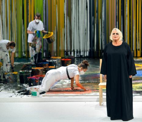 Iréne Theorin - La Walkyrie par Hermann Nitsch