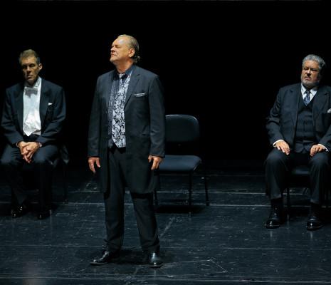 Georg Zeppenfeld, Michael Volle & Stephen Gould - Parsifal par Philipp Fürhofer