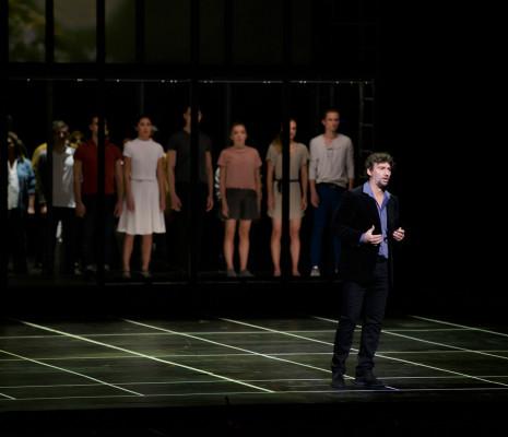 Jonas Kaufmann dans La Damnation de Faust par Alvis Hermanis