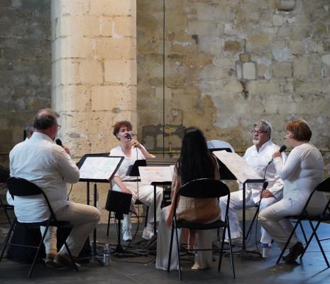 Neue Vocalsolisten à la Grange de Vaulerent