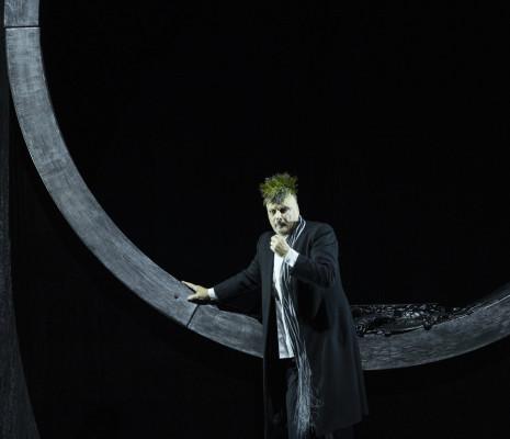 Nicolas Cavallier dans Œdipe par Wajdi Mouawad