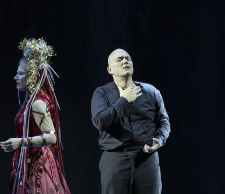 Christopher Maltman et Ekaterina Gubanova dans Œdipe par Wajdi Mouawad
