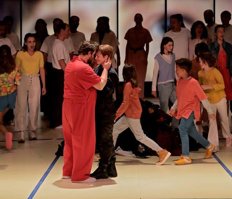 Mari Eriksmoen, Michael Spyres, Siobhan Stagg, Chœur Pygmalion, Maîtrise Populaire de l'Opéra Comique - Fidelio par Cyril Teste