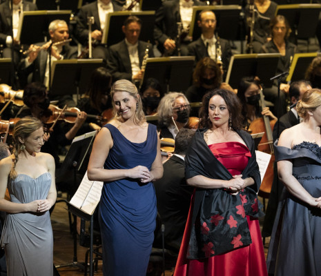 Sabine Devieilhe, Jacquelyn Wagner, Clémentine Margaine & Marie-Andrée Bouchard-Lesieur