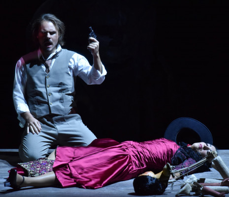 Thomas Bettinger & Ahlima Mhamdi - Carmen par Paul-Émile Fourny