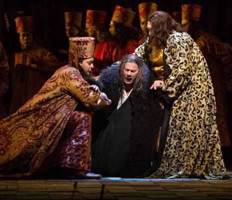 Aleksey Bogdanov, René Pape & Maxim Paster - Boris Godounov par Stephen Wadsworth