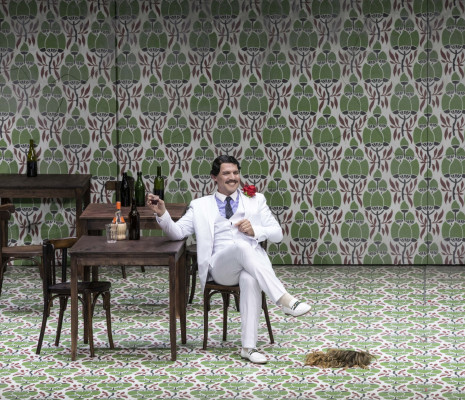 Stéphane Degout - Falstaff par Barrie Kosky