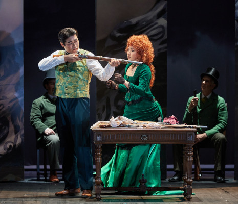 Jiwon Song & Heera Bae - Lucia di Lammermoor par Pierre Thirion-Vallet