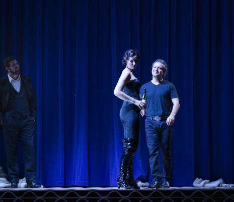 Goderdzi Janelidze, Dmitry Korchak & Justina Gringyté - Rigoletto par Claus Guth