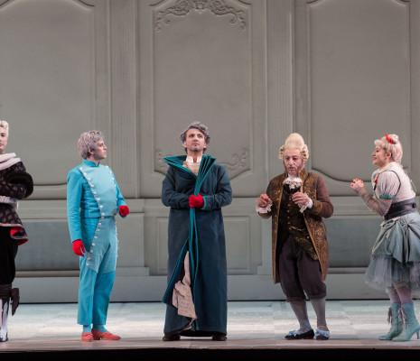Vito Priante (Dandini), Juan Francisco Gatell (Ramiro), Marko Mimica (Alidoro), Alessandro Corbelli (Magnifico), Serena Malfi (Vanessa Sannino).