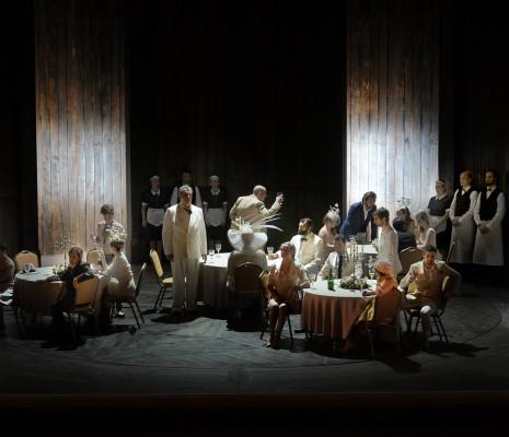 Orfeo mis en scène par Jetske Mijnssen