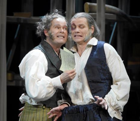 Finley et Skovhus dans les Maîtres Chanteurs de Nüremberg