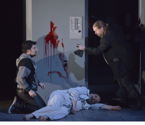 Chest, Drole et Greenan dans Don Giovanni