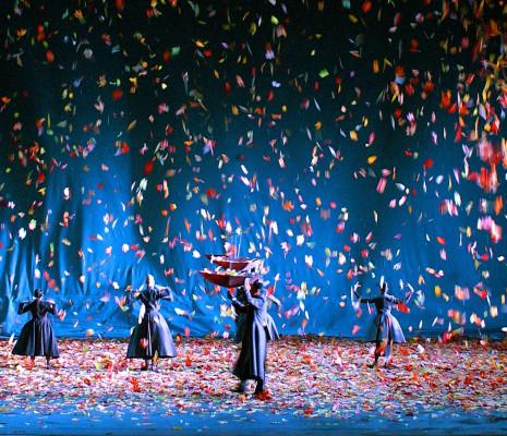 Costumes de Michael Levine pour les Boréades de Rameau