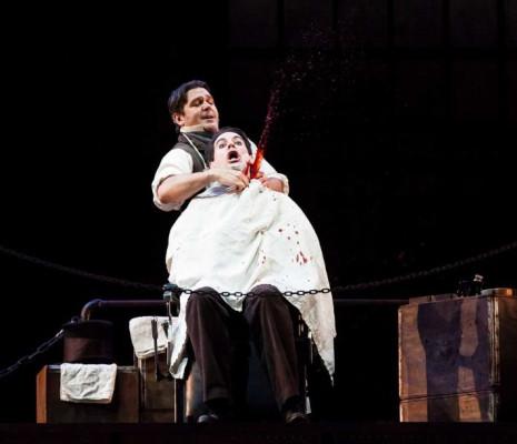 Sweeney Todd au San Francisco Opera par Lee Blakeley