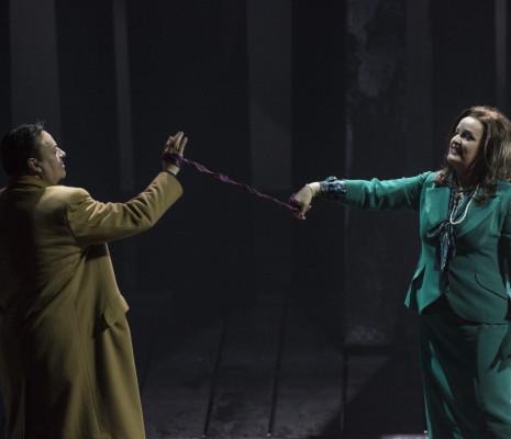 Ricarda Merbeth et Andreas Conrad dans Lear