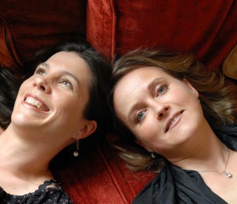 Violaine Cochard et Héloïse Gaillard