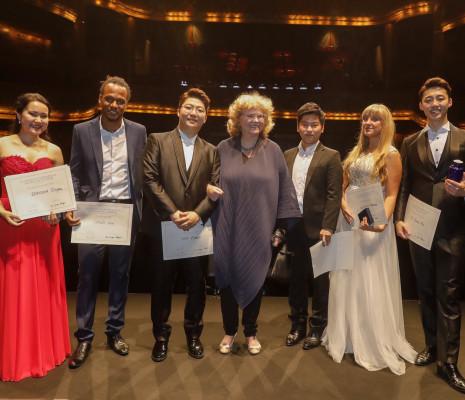 Lauréats du Concours international de chant de Toulouse