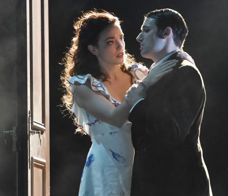 Laura Holm et Jérémie Schütz dans Gianni Schicchi