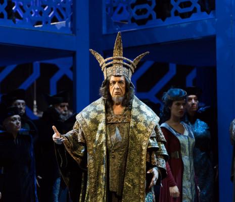 Leo Nucci dans Nabucco