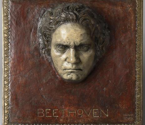 Ludwig Van Beethoven par Franz von Stuck