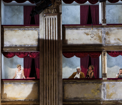 Matthews Sigmundsson Hellekant Montvidas Vasar dans Capriccio par David Marton
