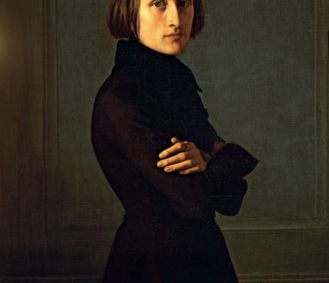 Franz Liszt par Henri Lehmann en 1839