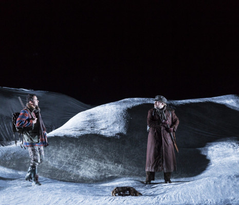 Oliver Zwarg et Martin Barta dans la Petite renarde rusée